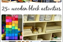 Block Play a Ideas in Early Childhood Family Day Care