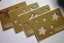 Karten mit Sternen