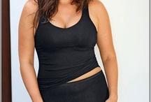 Caraco grande taille femme / Une gamme de caraco grande taille pour un large tour de taille et forte poitrine, de la dentelle, du satin, du gainant pour sublimer la femme. / by Mode Grande taille