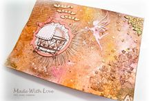 Art Journal Pages - Made With Love