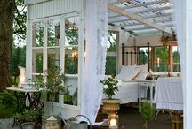 outdoor spaces / beautiful things for my yard  / by Layne Quintanilla ~ Mama Q Blogs It