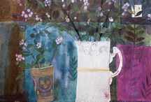 Joanna Allen artwork / Etchings, collagraphs, drawings and watercolours