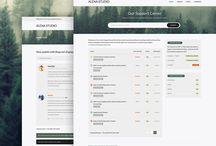 forum pages / exemplos de paginas de forum