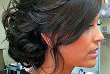 wedding hair for Jennifer