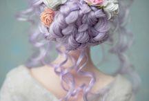 wig dolls
