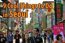 My travelling inspiration  - Seoul