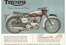 vintage motor illustrations