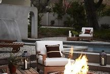 Fire place/ Fire pits / DIY & inspiration