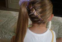 Alyshas hair.