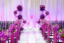 Wedding Ideas - Purple Passion / Inspiration for weddings using purple.