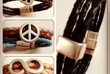 Annbraced / Naar ieders wenst gemaakte wikkel- en magneetarmbanden