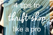 Tips to Thrift Shop like a Pro