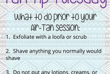 spray tanning tips