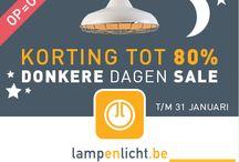 Donkere Dagen Sale / Van stoere fabriekslamp tot luie leeslamp. Van hanglamp tot lamp die blijft hangen. Wat voor lamp je ook zoekt, bij lampenlicht.nl slaag je altijd. Laat u inspireren door ons uitgebreide sale aanbod en profiteer tot en met 31 januari van hoge kortingen! Tot wel 80% korting op meer dan 600 producten.