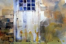 Akvarell/fönster