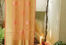 Benares saree