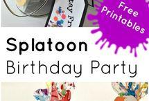 Splatoon feest