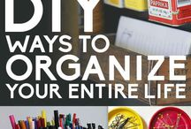 organise, clean, plan & such
