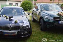 Svadobné autá / Ako spraviť z obyčajného auta romantickú a elegantnú súčasť svadby? Stačí ho správne vyzdobiť!