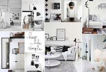Interior - Black and White
