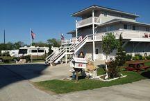 Crystal Beach RV Parks / R/V Parks on Bolivar Peninsula Texas in Crystal Beach Texas and High Island Texas.
