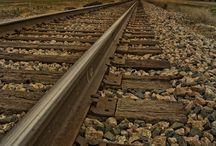 Traviesas de madera para ferrocarril