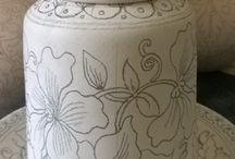 risco para porcelana