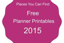 Printables and Planners 2015