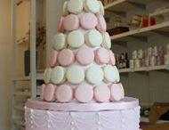 Macaron Wedding Cones