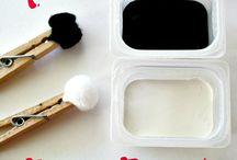 """activités enfants - peinture / idée d'activité """"peinture"""" à faire avec les enfants"""