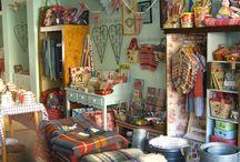 Vintage Shop Interior / by Lavender Rose Cottagey