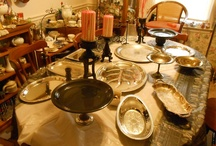Table Settings /  Beautiful tables set for  entertaining, holidays etc / by Best Craft Storage.com