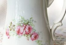 Vintage emaille servies