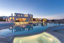 ALEGRIA by night / ALEGRIA villa \ Mykonos