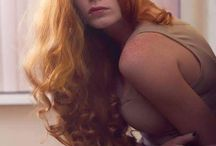 Gorgustious Redheads or Ginger hair. / Beautiful long hair on a woman.