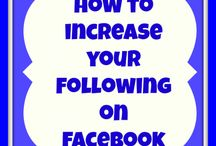 Facebook / Facebook tips and tricks, how to Facebook, Facebook marketing tips, how to increase your following on Facebook, Facebook resources.