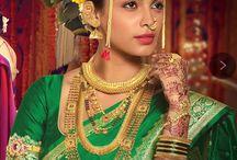 marathi navari saree