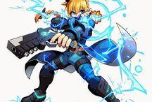 Azure Striker Gunvont