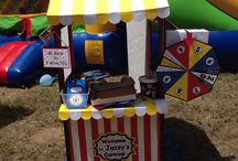 Jazzy's Carnival / It was my niece's 2nd Birthday & and I organized a carnival just for her w/ the help of her mom and all my loving cousins and family!! All ideas inspired by Pinterest posts and made it my own.  / by Donna Almazan
