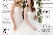 Wedding & Bride magazine / Melbourne, Queensland, and Western Australia's premier bridal magazine.