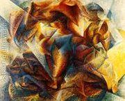 Futurism Paintings / Futurism Art + Paintings