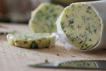 Manteigas, compotas e antepastos