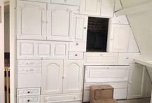 Wand kastjes lades