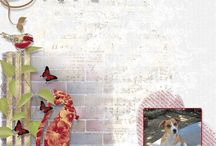 Layout Insperation + / Here you will find layouts created with the kits under scrapbooking kits