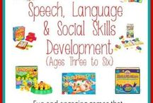 Speach and language ideas/games therapies