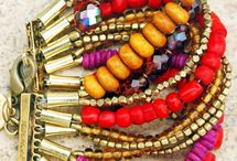 Beads, Buttons - Bracelets / DIY bracelets from simple to elegant. If you love to craft jewelry, this board has so many ideas to ponder.  / by Candy Rick