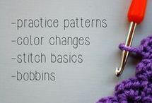 Crochet and Knitting / Gorgeous crochet and knitting ideas for beginners and advanced. Crochet patterns to suit every occasion.