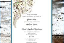 Hydrangea Wedding Invitations / Hydrangea wedding stationery by 2by2 creative.