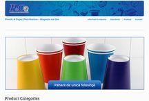 Web site / Aici puteti vedea lucrari din portofoliul de web design.