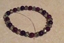 Handmade bracelets / Handmade bracelets . Gemstone,Leather,Shambala